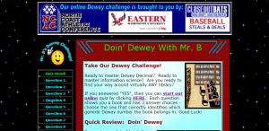 doin dewey game
